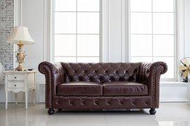 Vintage Leather Couch Restoration Brisbane