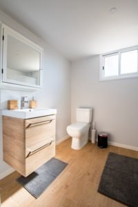 small cozy bathroom with grey mats, who who carpet cleaning and pest management blog