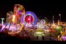 Fun rides at ekka - blurred photo - ekka 2019