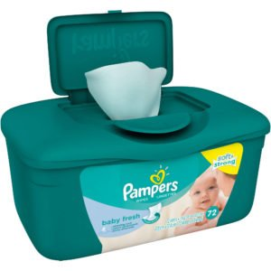 Pampers green box baby wipes