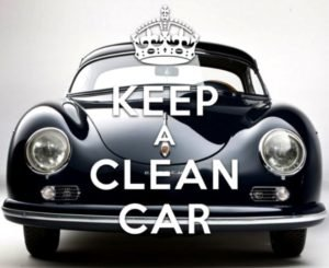 Black Retro Car - Car Upholstery Cleaning Tips