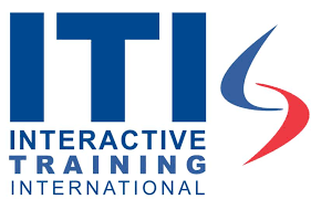 ITI logo with blue and red