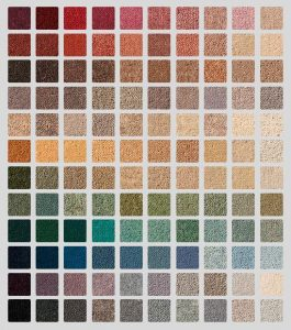 Multiple Carpet swatches - Professional Carpet Dyeing